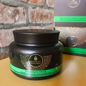 NEW! Moroccan Gold Hair Treatment Mask